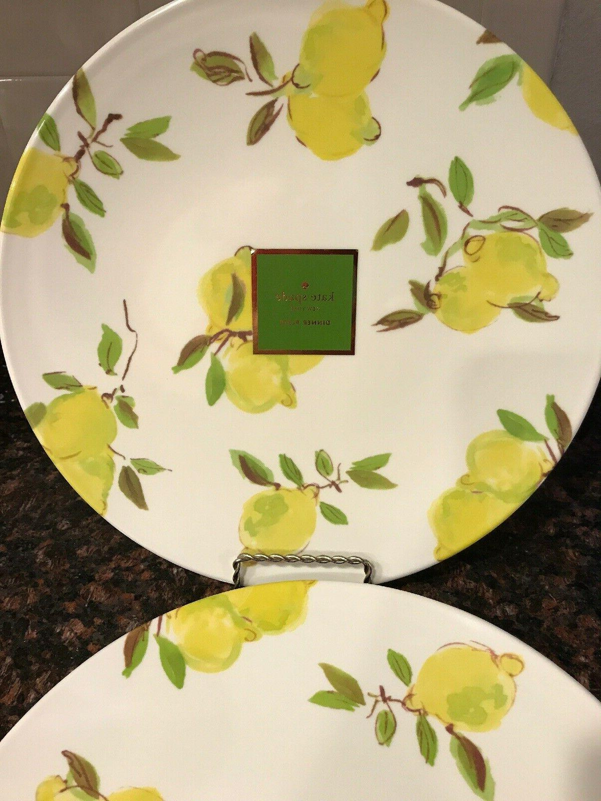 Kate Spade Dinner Plate NWT plates Summer OR SET
