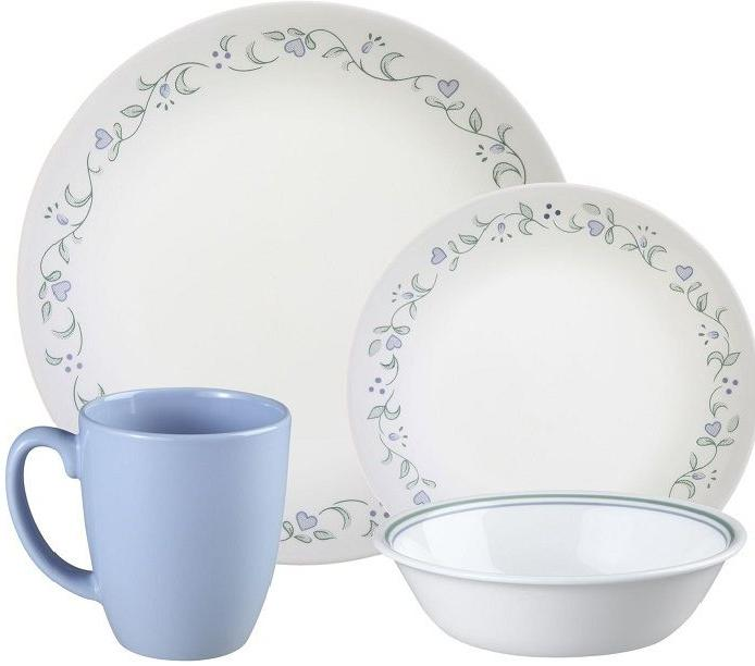 livingware 16 country cottage dinnerware