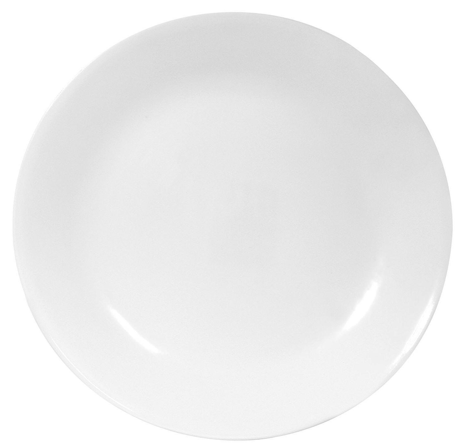 livingware 6 piece dinner plate set winter