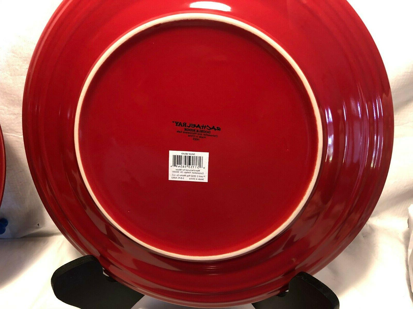 Lot Of 4 Ray Double Red New!