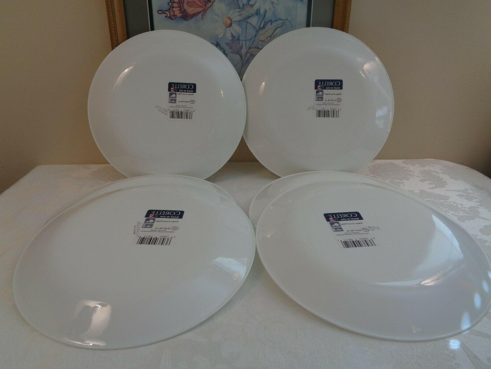 Lot of NEW WHITE DINNER *New With
