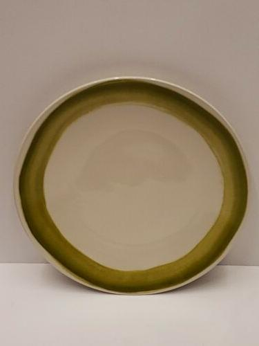 market place moss dinner plate 10 9in