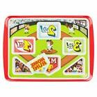 Kids Meal Plate- Home Run Baseball Themed Kids Meal Tray Gam