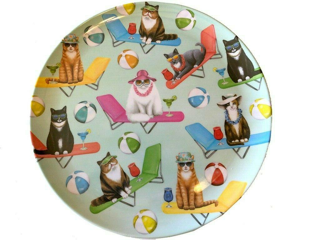 Melamine Cats the Set 4 Pattern VW
