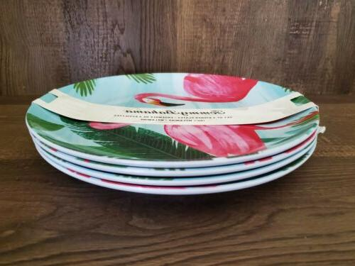 Tommy Plates Flamingos Tropical