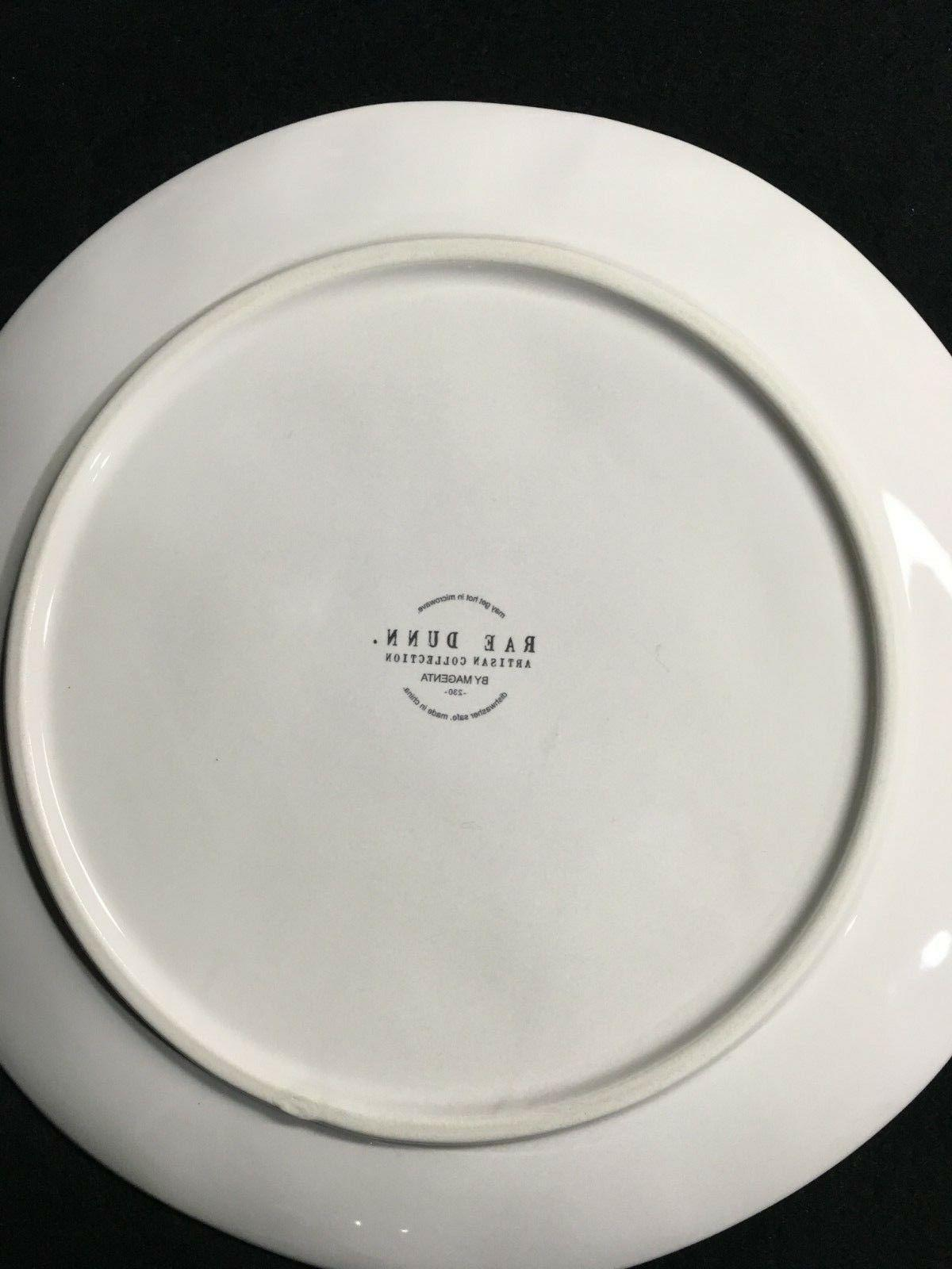 Rae Dunn MERRY Plates Cookie Plate 8