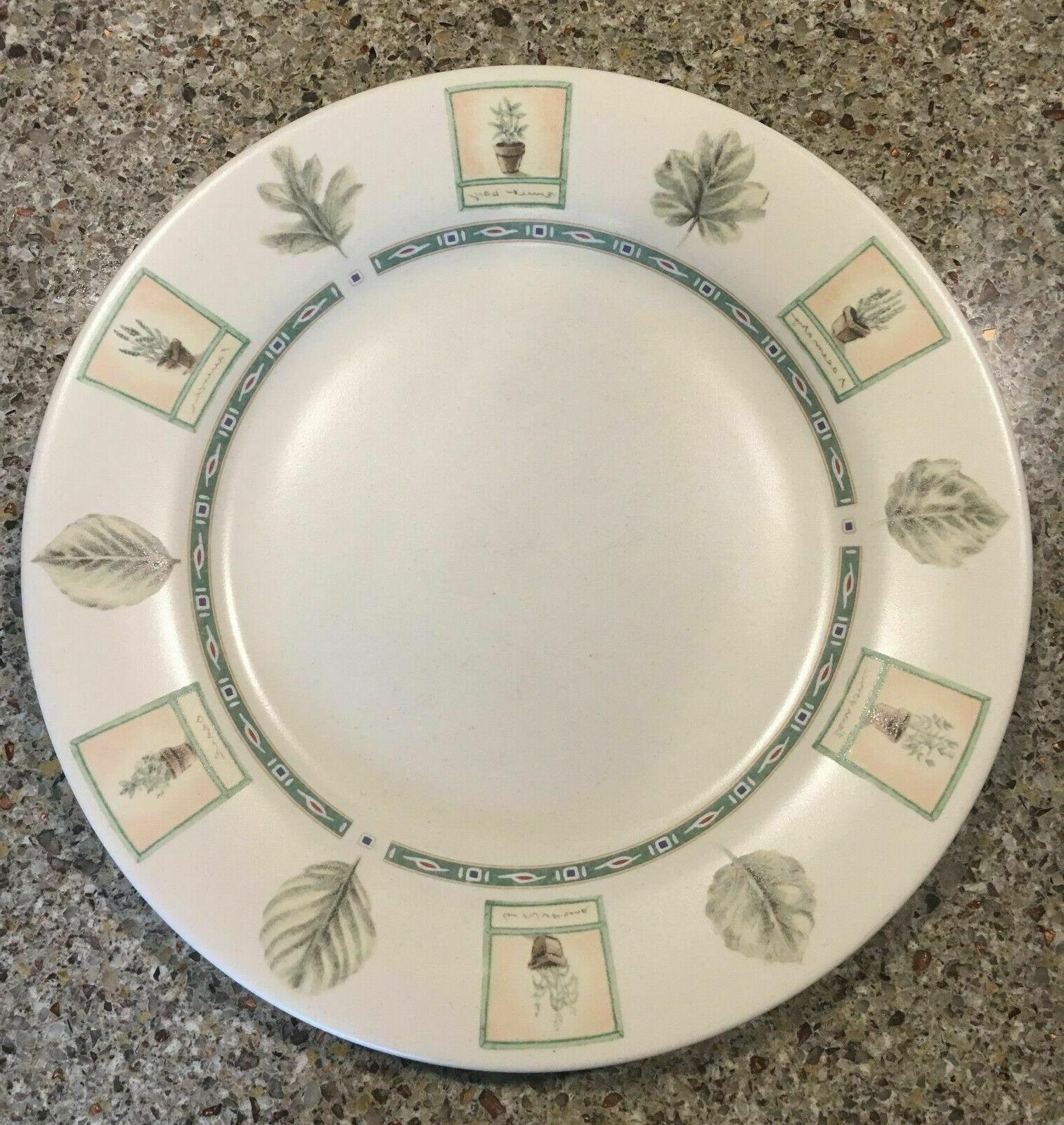naturewood dinner plate seven avail excellent condition