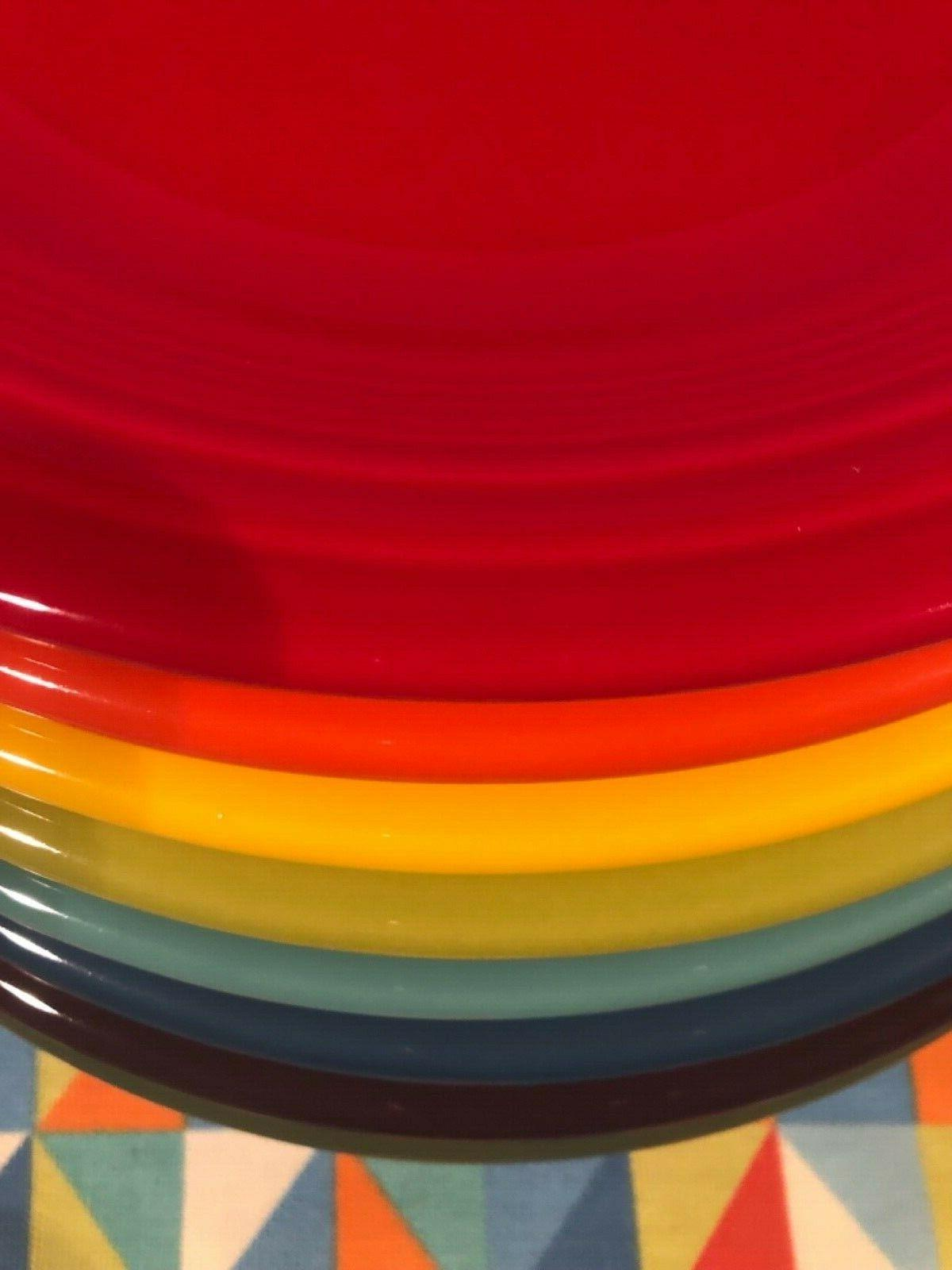 NEW COLOR PLATES FIESTAWARE FREE