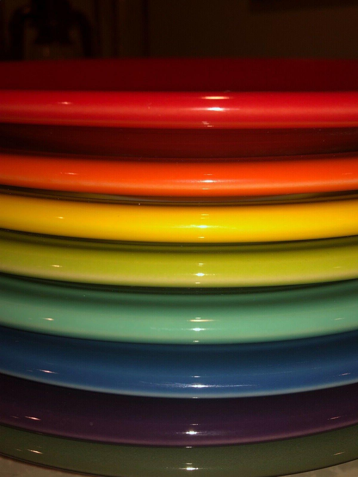 NEW PLATES BRIGHT MIX COLOR SET SHIPPING