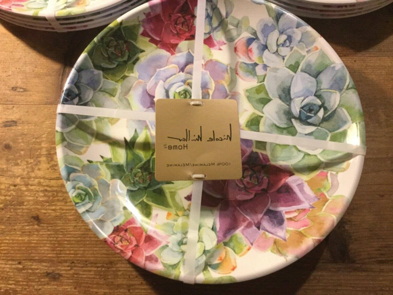 new melamine dinner set of 4 plates