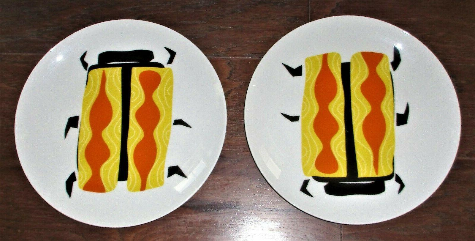 new yellow beetle dinner plates dinnerware dishes