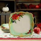 """NWT The Pioneer Woman Winter Bouquet 10.75"""" Dinner Plate Chr"""