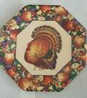 Pack 8 Amscan Autumn Fall Turkey Thanksgiving Dinner Paper P