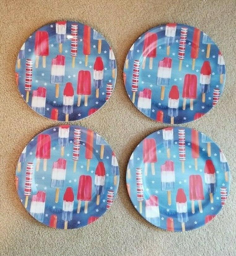 popsicle summer 4th of july patriotic melamine