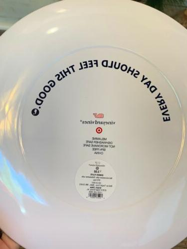 """RARE For Target 4 10.25"""" Plates White Whale"""