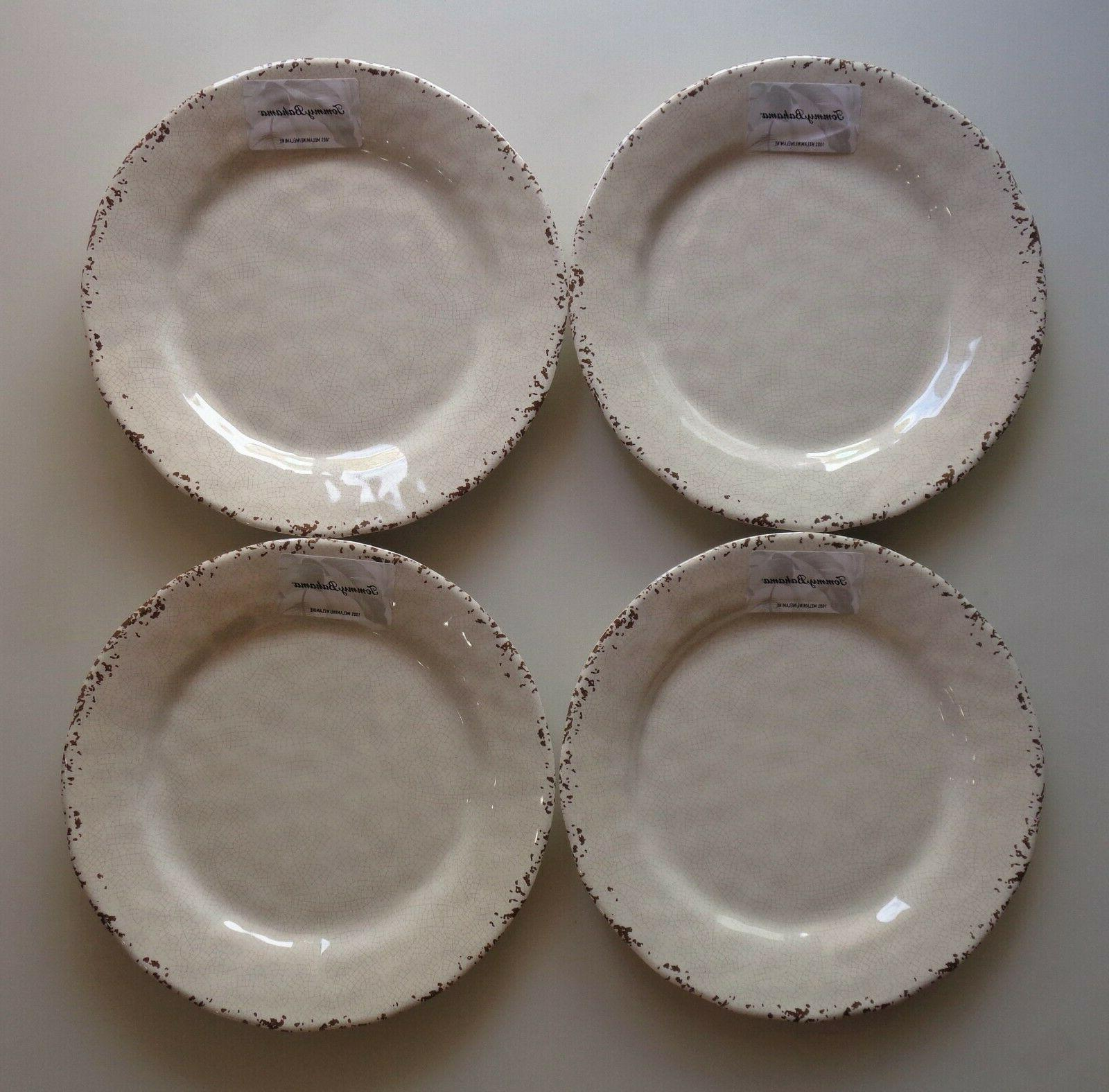 SET 4 Tommy Bahama Plates NEW