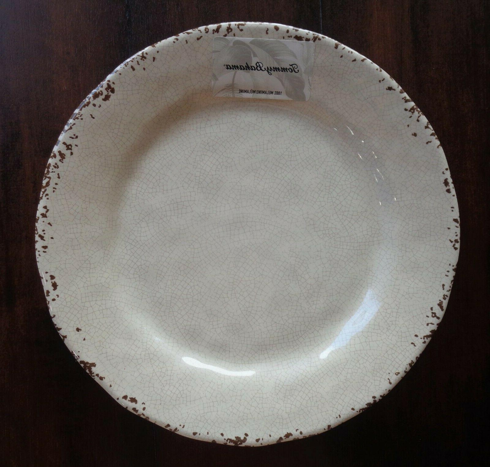 SET of Tommy Bahama Plates Cracked