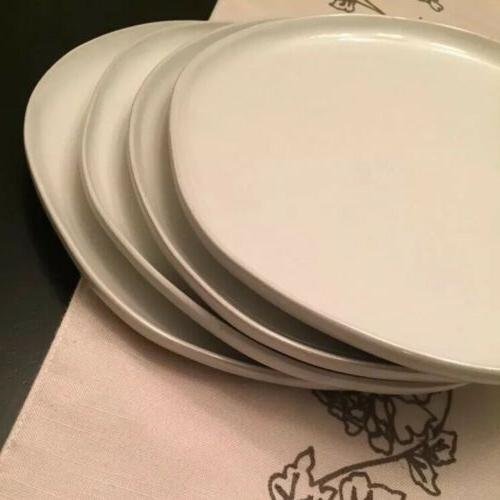 Set Hearth and - 10-inch Cream Dinner Plates
