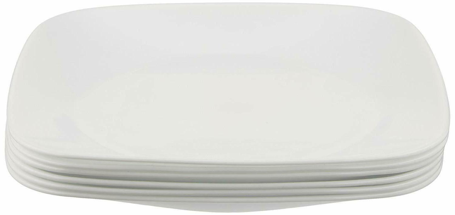 square lunch plates