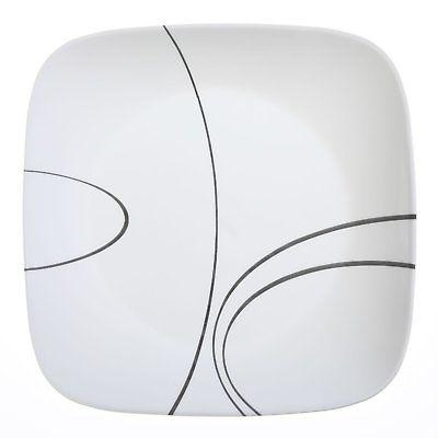 "Corelle Square Simple Lines 10.25"" Dinner"
