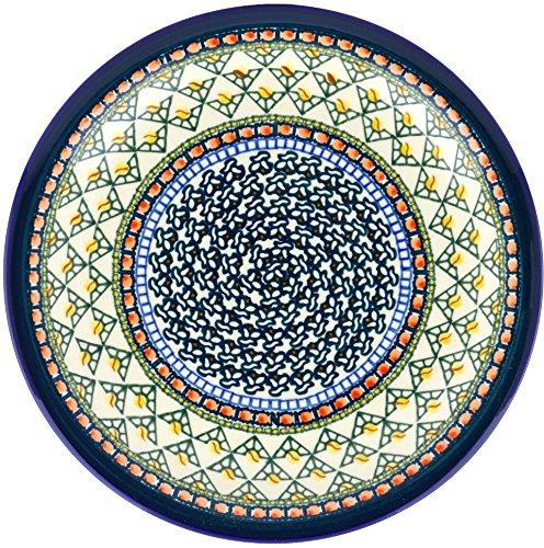 stoneware plate h8157a hand painted
