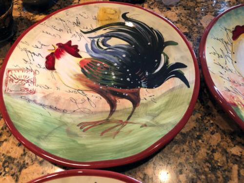 Susan Winget International Dinner Rooster 11""