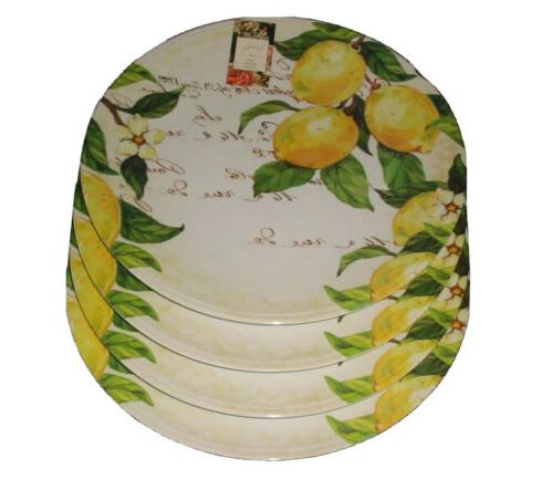 Nicole Lemon Melamine Dinner Outdoor Of