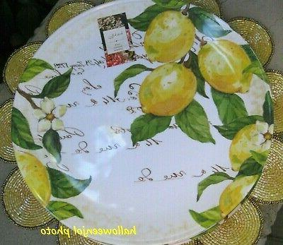 NICOLE Lemon Yellow MELAMINE
