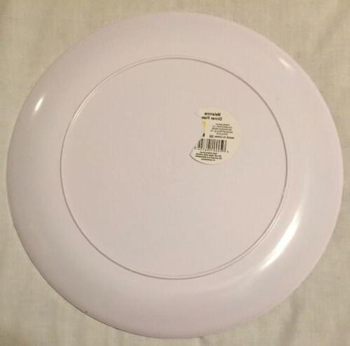 "Watermelon 11"" Plates, Of 6, Melamine,"