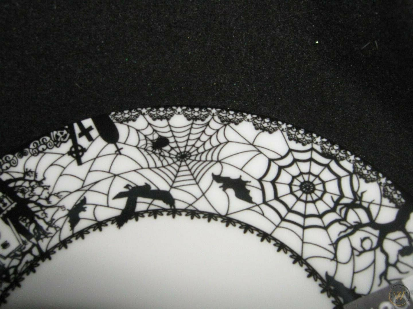 CIROA Wicked Wiccan Lace Dinner Plates- 4 Box