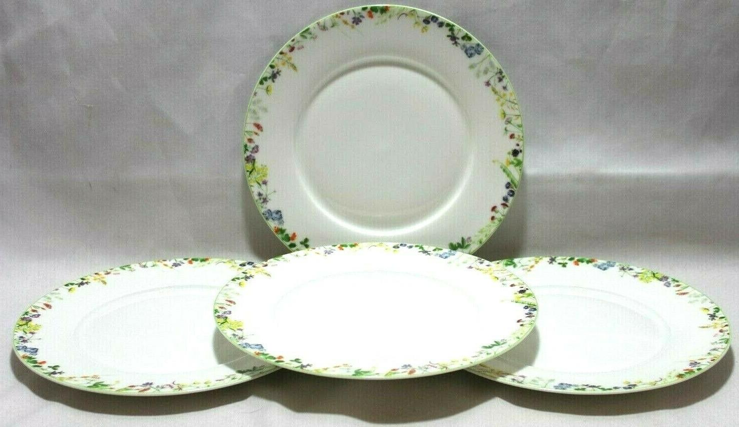 Mikasa Garden China Multi-Color Floral Plates /4