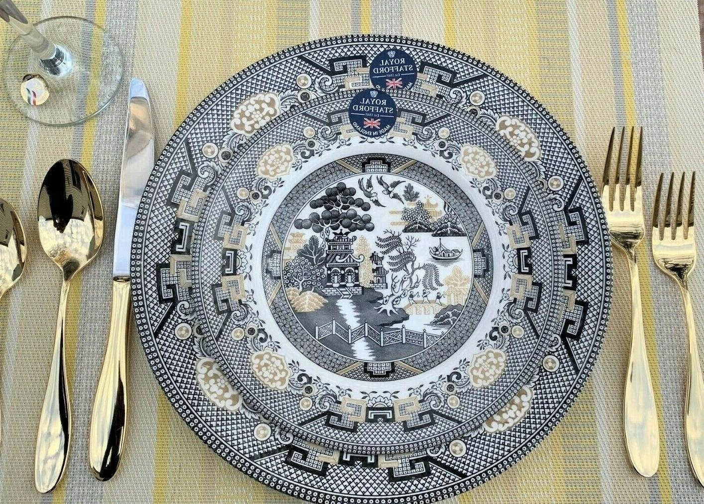 willow by dinner plates salad plates