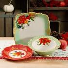 The Pioneer Woman Winter Bouquet 12-Piece Dinnerware Set for