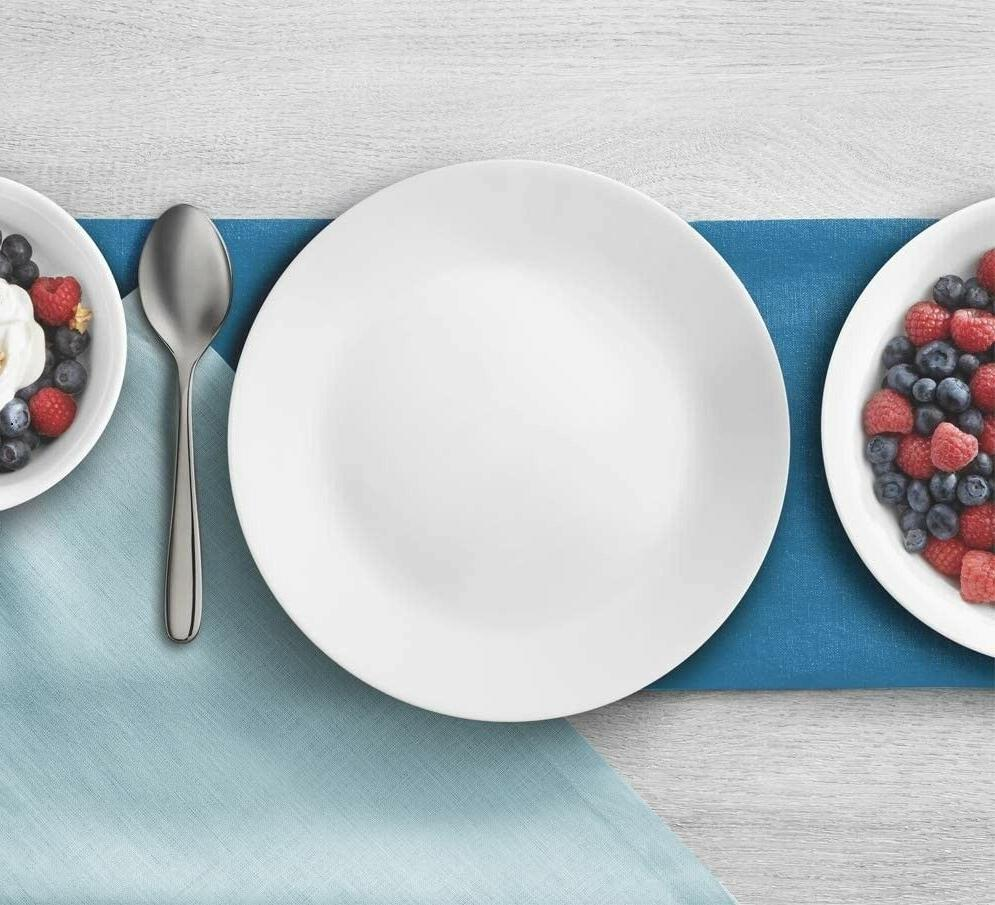 Corelle Frost Lunch Plates, /