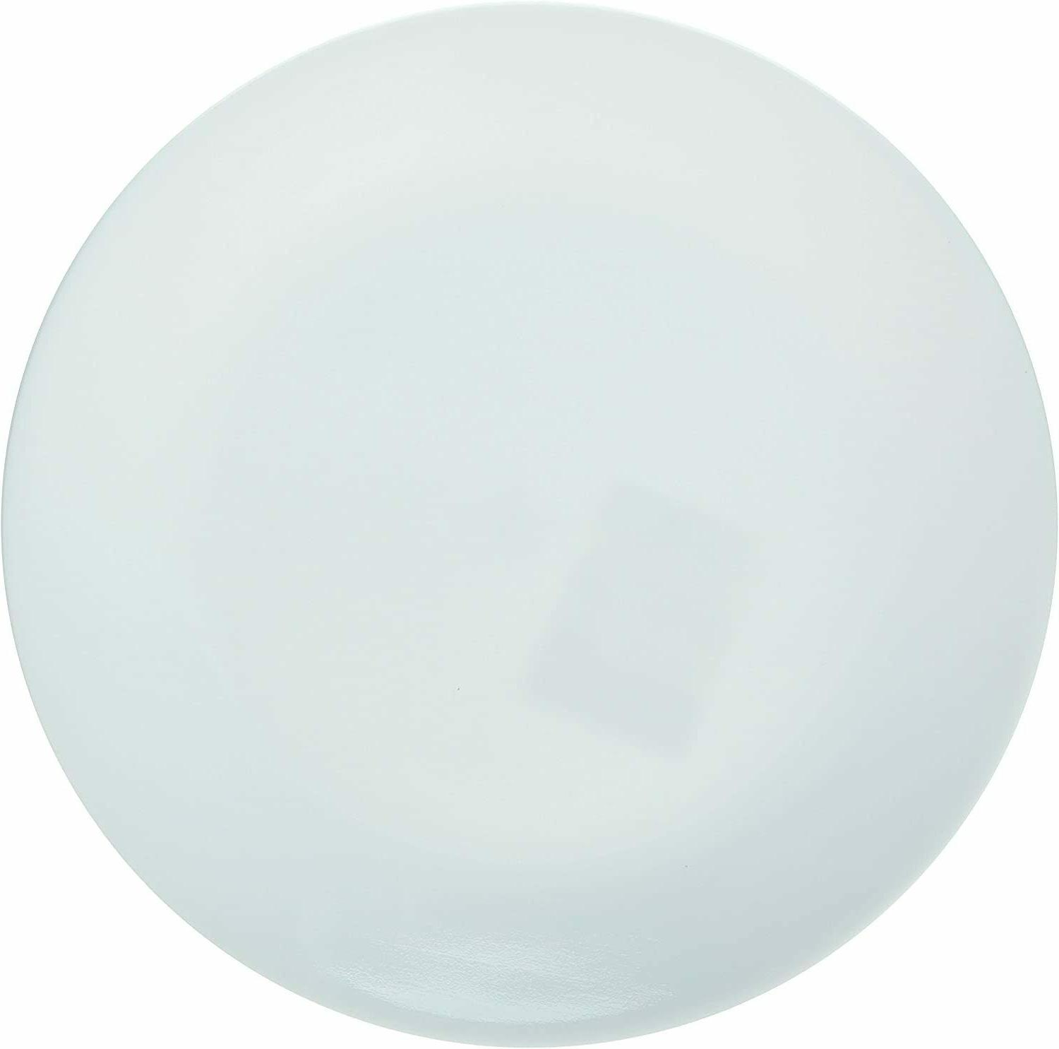 "Winter Frost Plates White Dinner 10-1/4"" Dia. , 1-Pack - Bra"