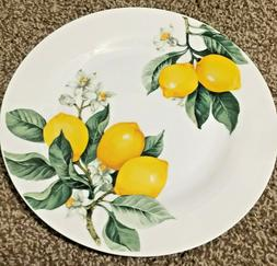 Royal Norfolk Lemon Plates Dinner Size by Greenbriar Intl