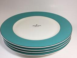 "Kate Spade Lenox Rutherford Circle Dinner Plates 11.2"" - Set"