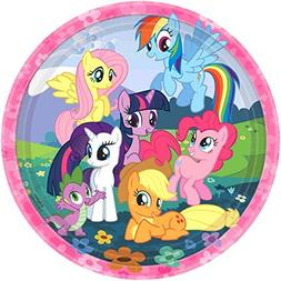 Amscan My Little Pony Little Lunch Plate