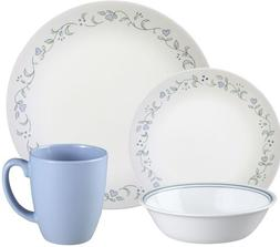 Corelle Livingware 16-Piece Country Cottage Design Dinnerwar