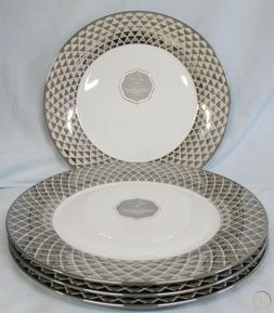 Ciroa lux lattice dinnerware silver gold cups plates bowls