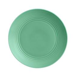 "Royal Doulton Maze Teal Dinner Plate, 11"", Green"