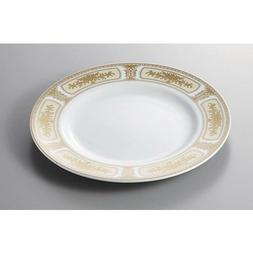 Service Plate Madonna Gold 10 inch dinner plate  Tatei Ryok