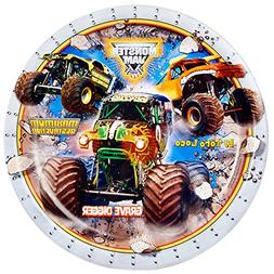 BirthdayExpress Monster Jam Party Supplies - Dinner Plates