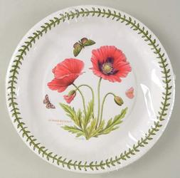 NEW Portmeirion Botanic Garden Poppy Coated Paper Dinner Pla