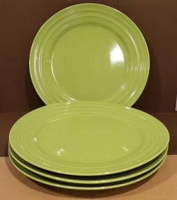 NEW -  RACHAEL RAY -  Double Ridge GREEN 11 INCH DINNER Pl
