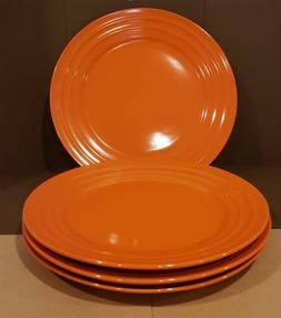 NEW -  RACHAEL RAY -  Double Ridge ORANGE 11 INCH DINNER P