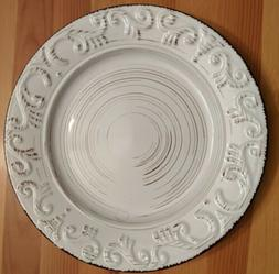 new trellis white dinner plate replacement or