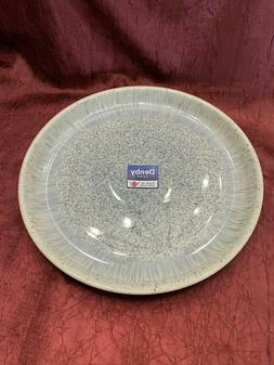 NWT Denby Halo Speckle Coupe Dinner Plate Brand New