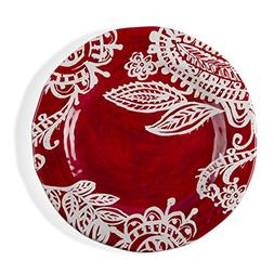 tag - Paisley Melamine Dinner Plate, Durable, BPA-Free and G