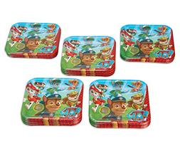 American Greetings Paw Patrol, Paper, Dinner Plates, 40-Coun